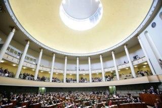 Finlands riksdag Eduskunta, där Nordiska Rådets session äger rum