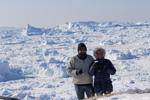 kaffe framför isbergen WEBB-2165