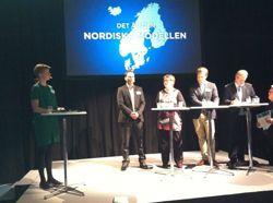 Från vänster: Loa Brynjulfsdottir, Johan Ingelskog, Jorunn Berland, Tobias Eriksson och Lauri Ihalainen.