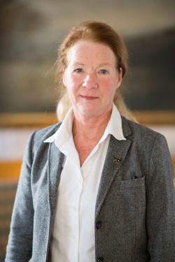 Marie Wedin, ordförande för Sveriges Läkarförbund, protesterar mot att den nordiska överenskommelsen riskerar att sägas upp.    Foto: Liza Simonsson