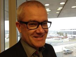 Magnus Gissler, tillträdande generalsekreterare för NFS