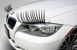 Car Lashes - Chrome