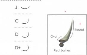 Biomooi Fashion Black Swan C 0.15 (flat) - C 9 mm