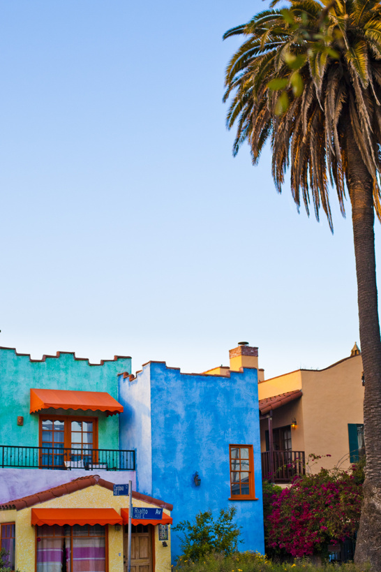 Venice Beach - som en tavla.