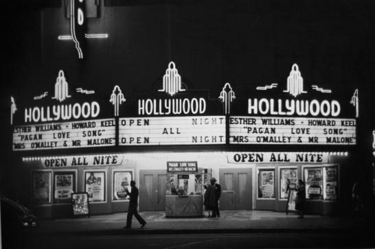 Det gamla Hollywood - open all night.