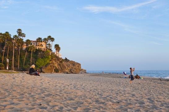 Inte nog fyllda av sol och sand, lät vi eftermiddagsluren såklart infinna sig till solnedgången på Aliso Beach.