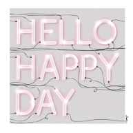 Kort - Hello Happy Day