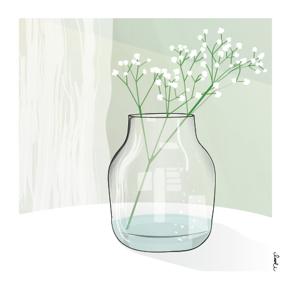 Kort - Vase