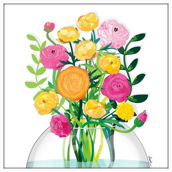 Nytt, och redan älskat, motiv i blom!