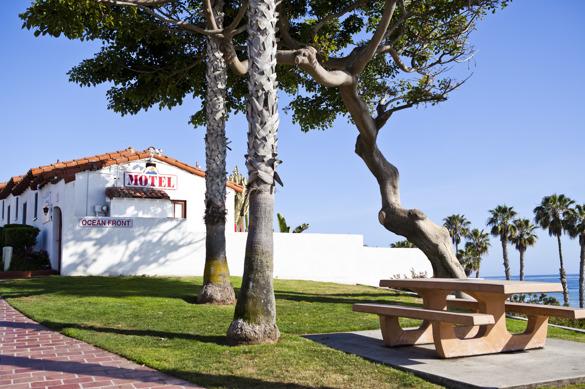 Ocean front motel - ett absolut måste på tillbakavägen!