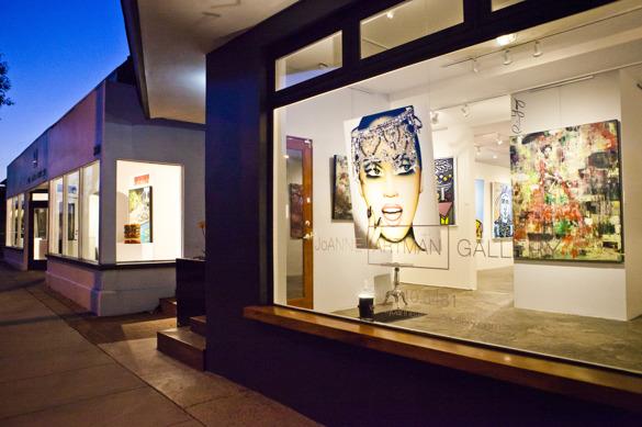 Många gallerier, mycket konst, mycket inspiration!