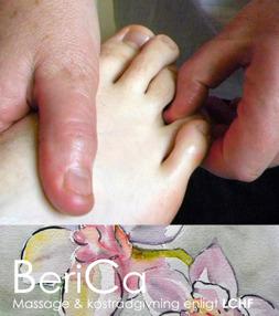Taktil massage Falkenberg - taktil massage hos Berica Massage