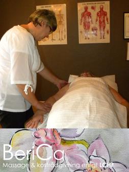 Taktil stimulans Falkenberg  - taktil massage hos BeriCa Massage