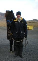 Jag och Freyr frá Ytri-skogum på Kalfholt 2010