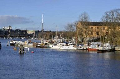 Skeppsholmen från bron