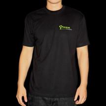 Green Guitars T-shirt - Green T-shirt (L, svart)