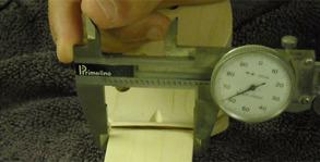 Mätning av sadelbredd