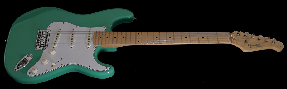 Surf Green med Lundgren Pickups