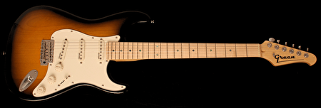 2-tone Sunburst Maple Fingerboard