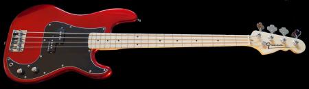 Red Metallic - Maple fingerboard