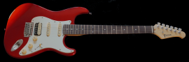 Green Super Strat - Red Dakota