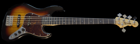 3-tone Sunburst 5-strings