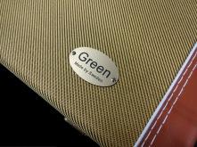Included - Green Case Vintage - Tweed