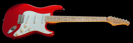 Maple fingerboard - Candy Red Metallic