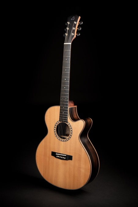 Solid Sitka Spruce top from USA