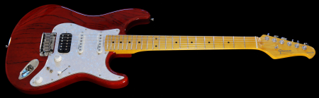 Trans Red - with Maple Fingerboard