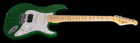 Trans Green - with Maple fingerboard