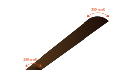 Compound Radius on fretboard