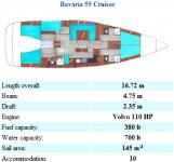 Bavaria 55 Cruiser (Grekland)