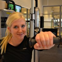 Sofie i gymmet