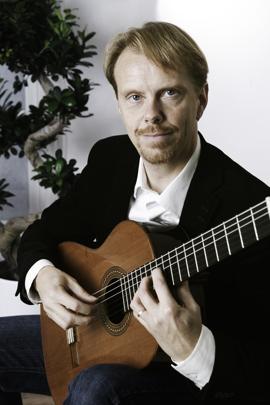 Magnus Gronlund classical guitar