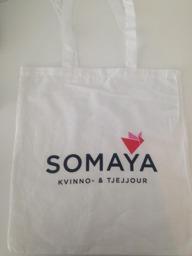 Väska - Somaya väska logga