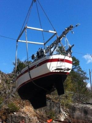 Claes Erikssons båt