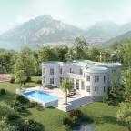 Design © Arkitekt Pål Ross Villa Casa Blanca Bird view