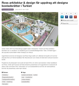 Projekt i Turkiet!