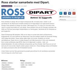 Ross - Dipart!