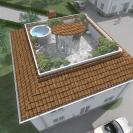 Design © Arkitekt Pål Ross - Villa Klassic takterrass