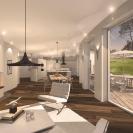 Design © Arkitekt Pål Ross - Villa Lilja Interiör 1