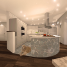 Design © Arkitekt Pål Ross - Villa Lilja Interiör 3