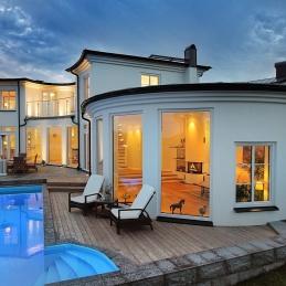 Design © Arkitekt Pål Ross - Villa Saturnus