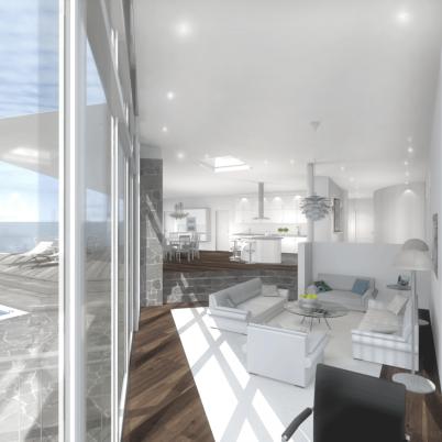 Design © Arkitekt Pål Ross - Vardagsrum