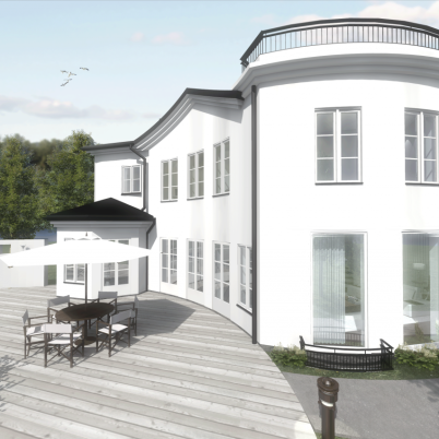 Design © Arkitekt Pål Ross - Villa Roxen