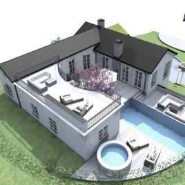 Design © Arkitekt Pål Ross - Villa Anna&Emil översiktsvy