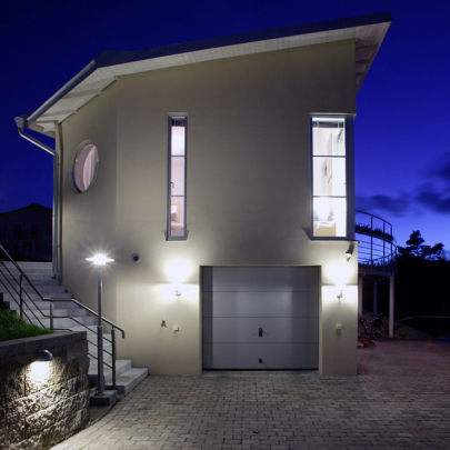 Design © Arkitekt Pål Ross - Villa Danmark