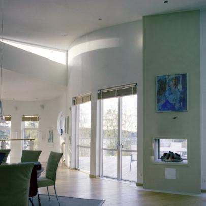 Design © Arkitekt Pål Ross - Villa Danmark Interior1