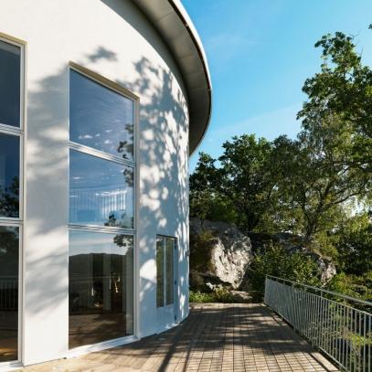 Design © Arkitekt Pål Ross - Villa Luna